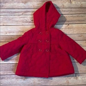 Gymboree Toddler quilted jacket with hood